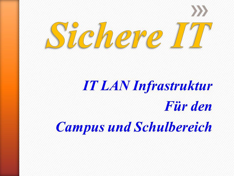 IT LAN Infrastruktur Für den Campus und Schulbereich