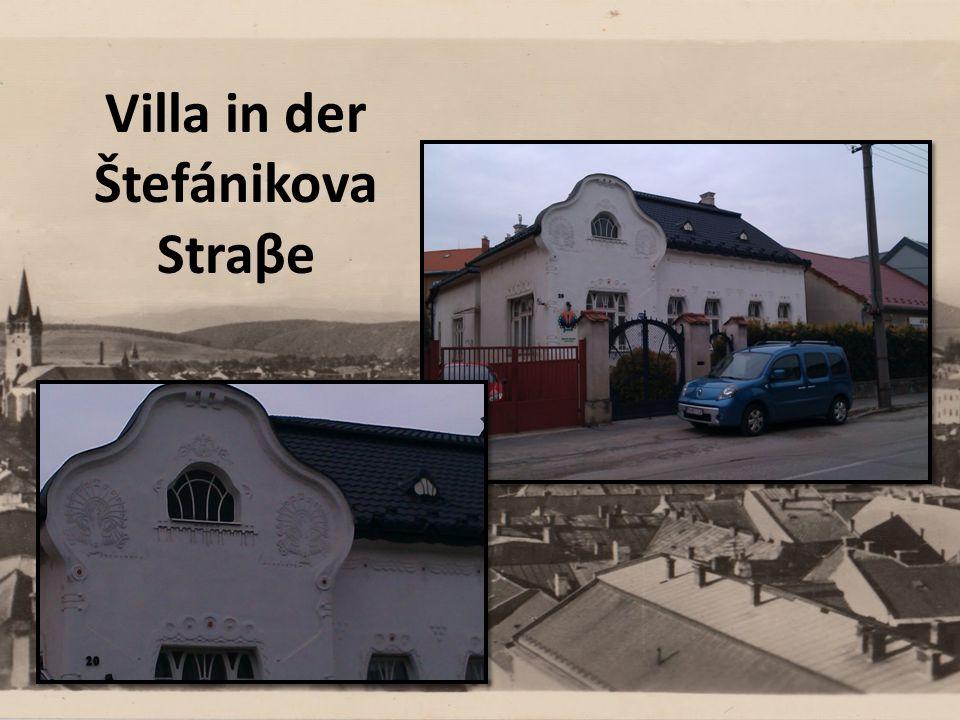 Villa in der Štefánikova Straβe