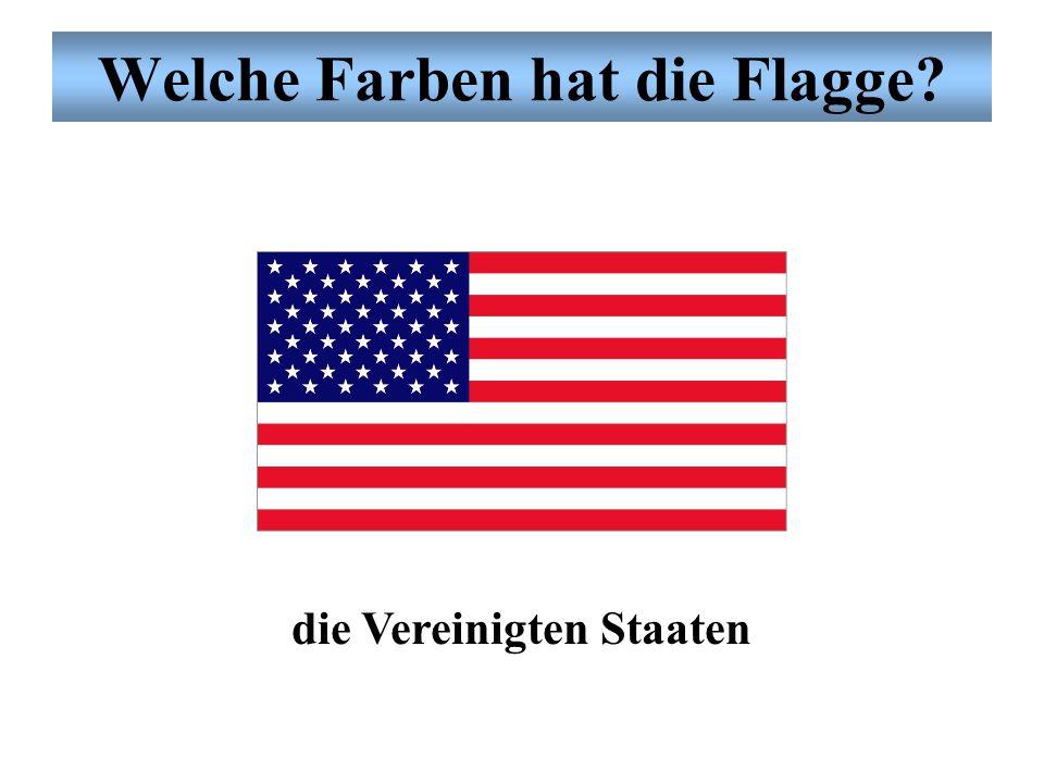 Welche Farben hat die Flagge? Deutschland