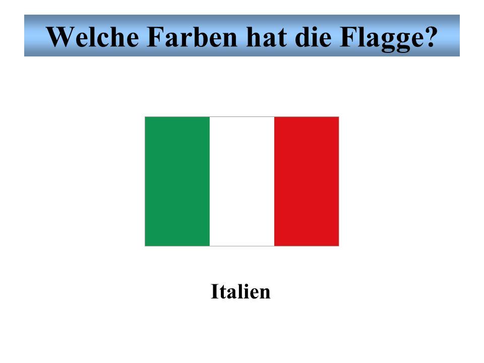 Welche Farben hat die Flagge? Frankreich