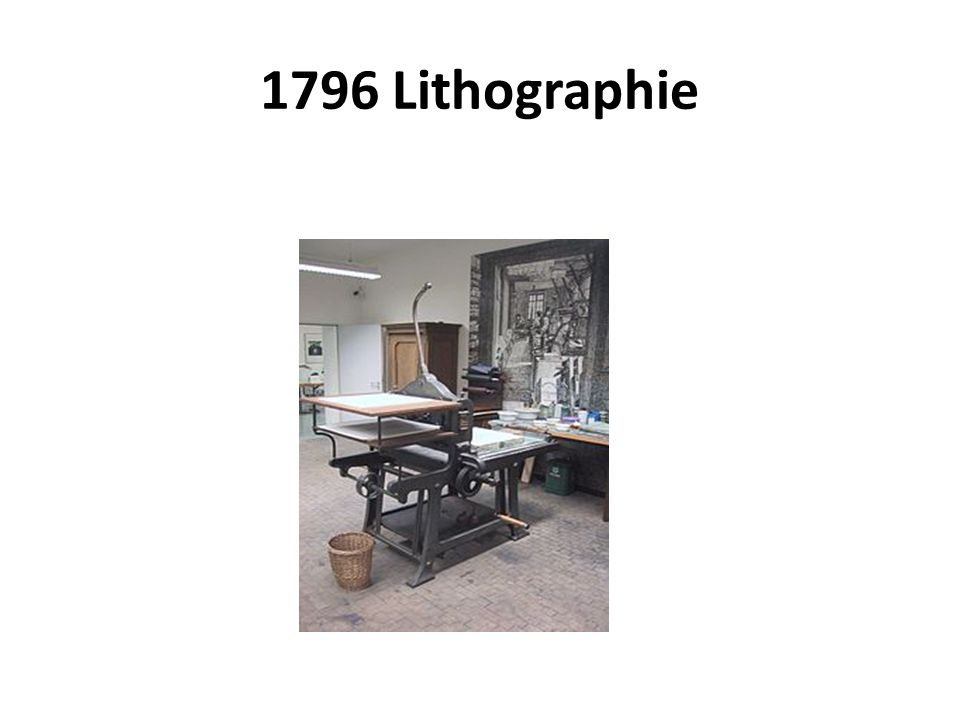 1796 Lithographie