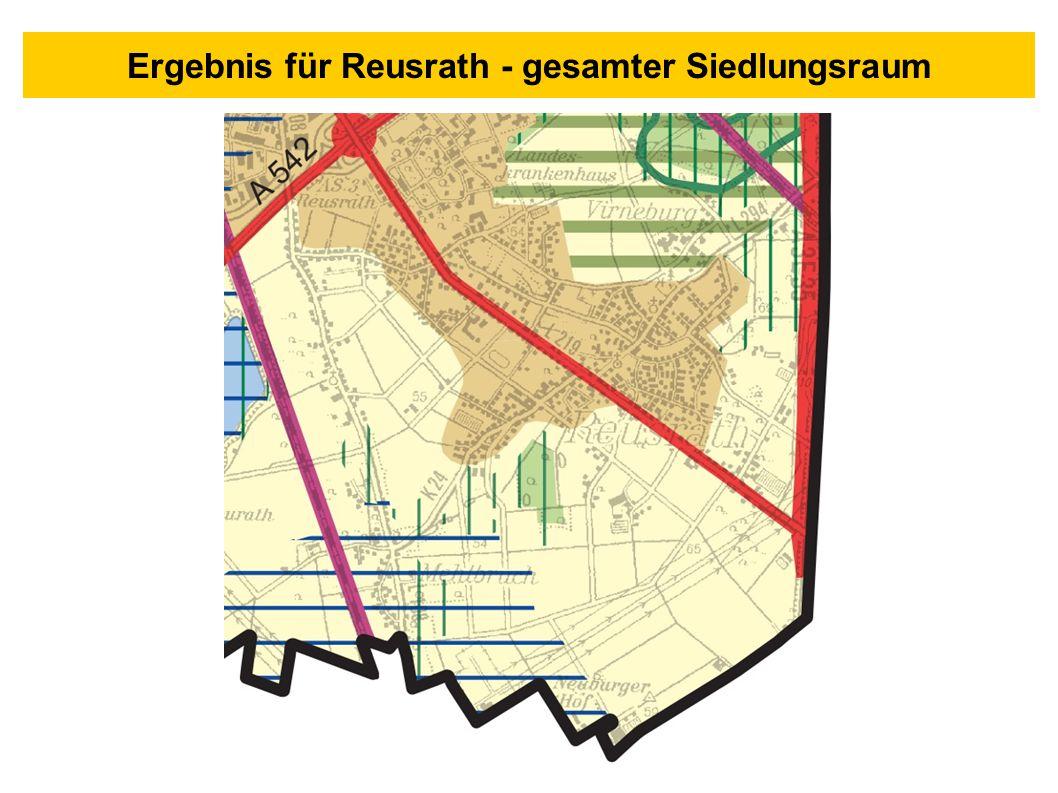 Ergebnis für Reusrath - gesamter Siedlungsraum