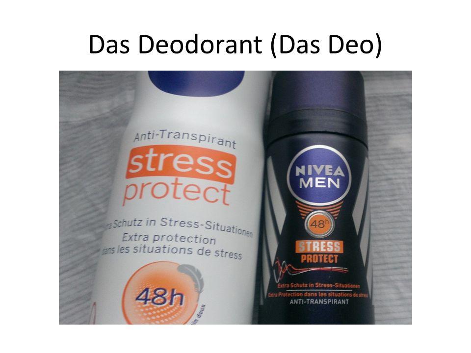 Das Deodorant (Das Deo)