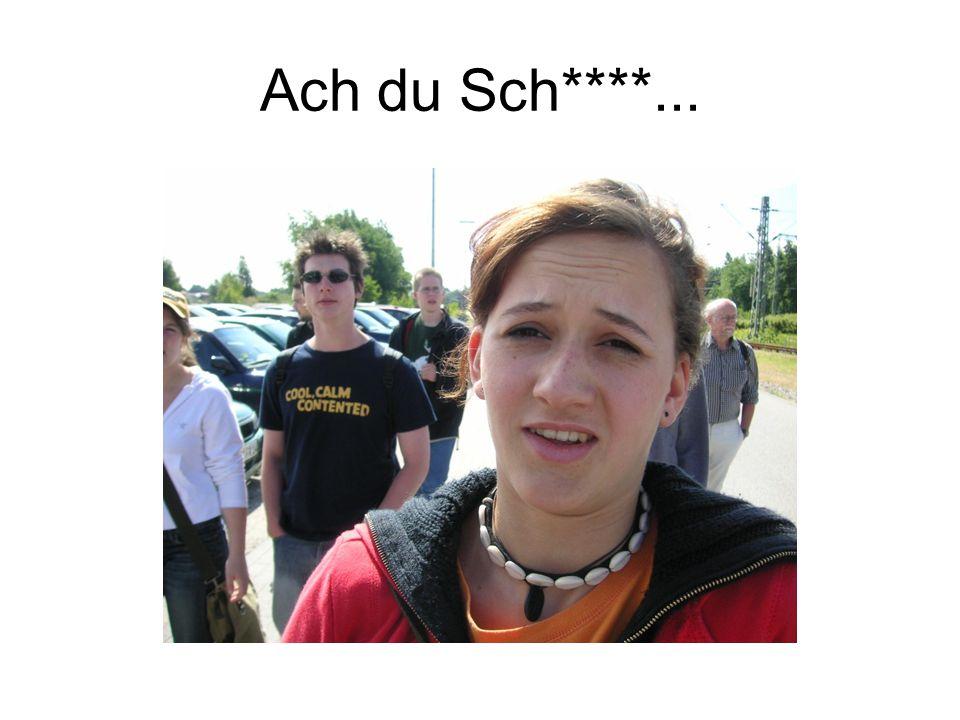 Ach du Sch****...