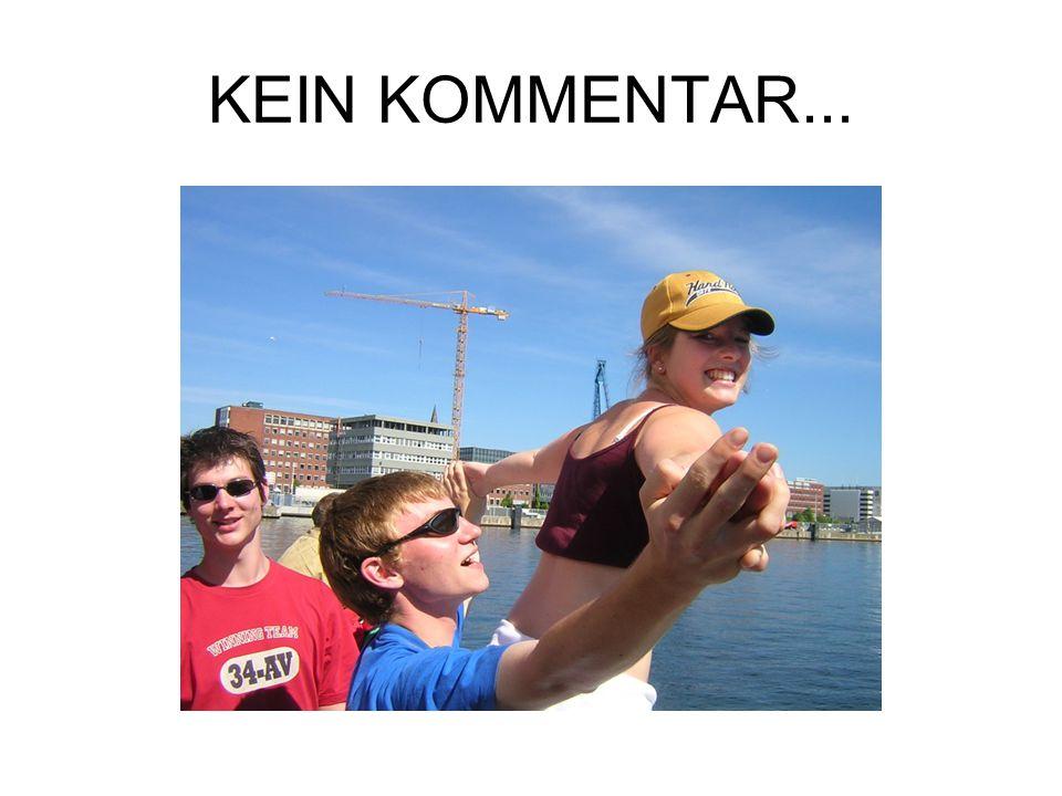 KEIN KOMMENTAR...