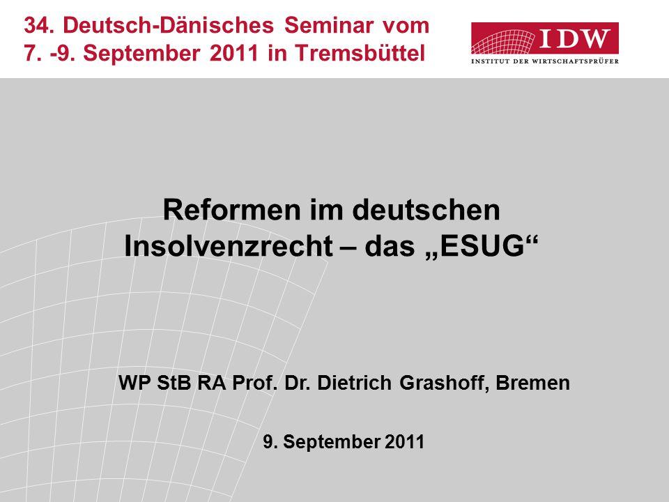 34. Deutsch-Dänisches Seminar vom 7. -9.