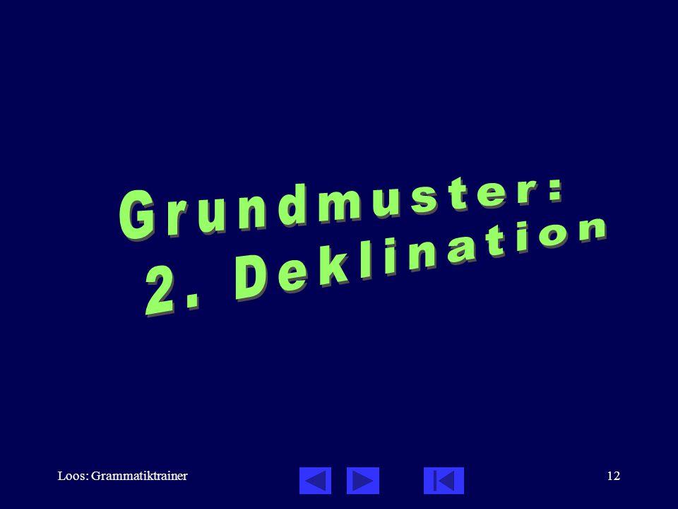 Loos: Grammatiktrainer12
