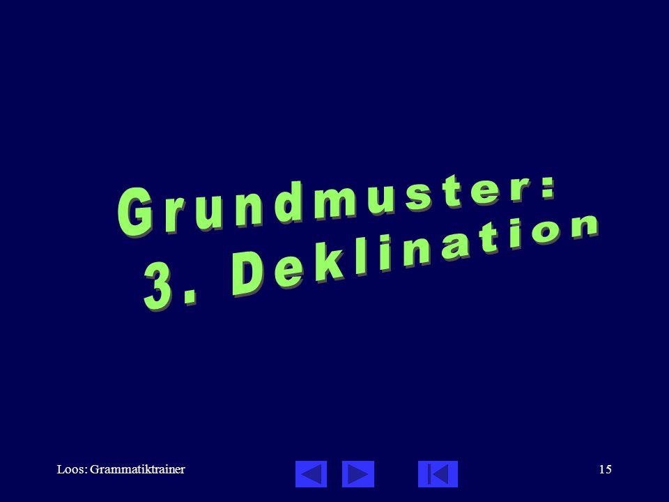 Loos: Grammatiktrainer15