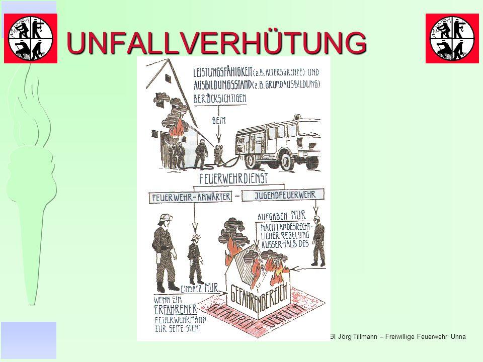 © BI Jörg Tillmann – Freiwillige Feuerwehr Unna UNFALLVERHÜTUNG