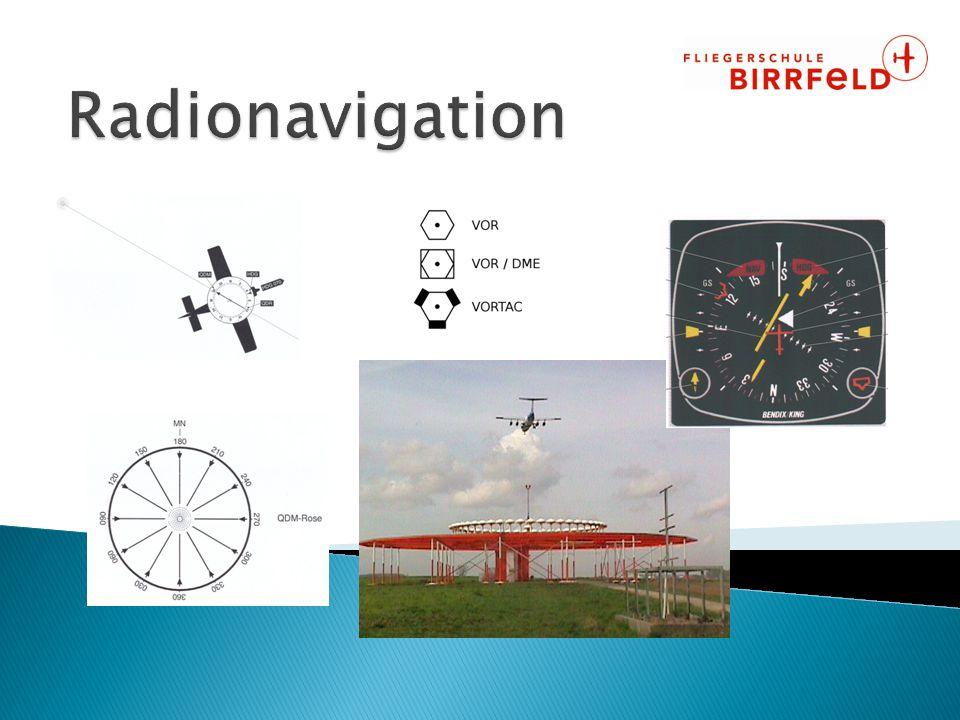 Radionavigation ???  Aber ich fliege doch nach Sicht!