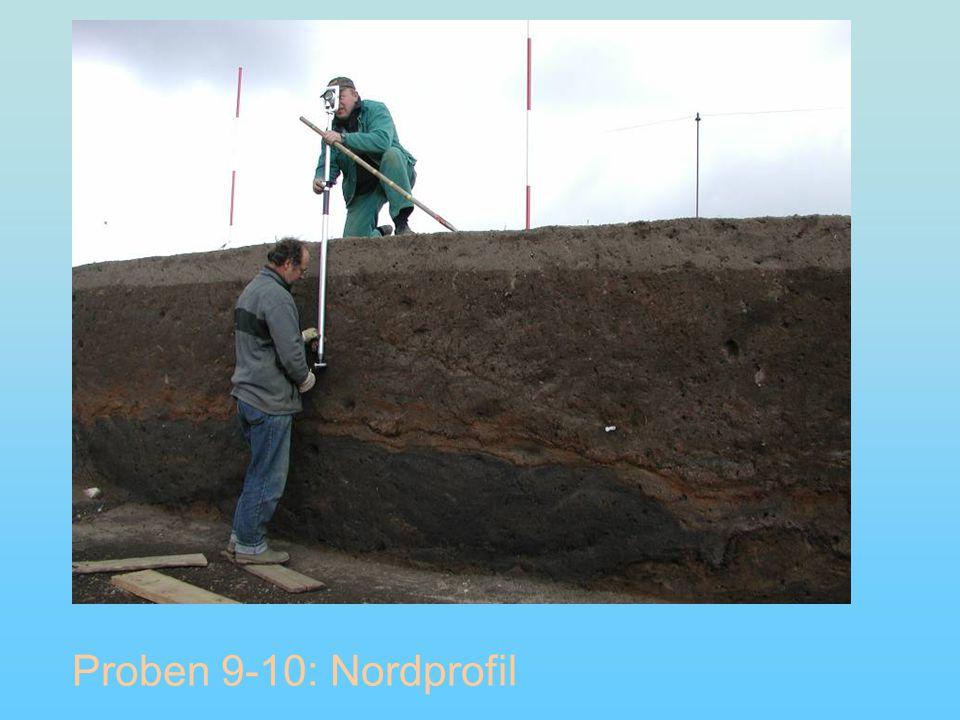 Proben 9-10: Nordprofil