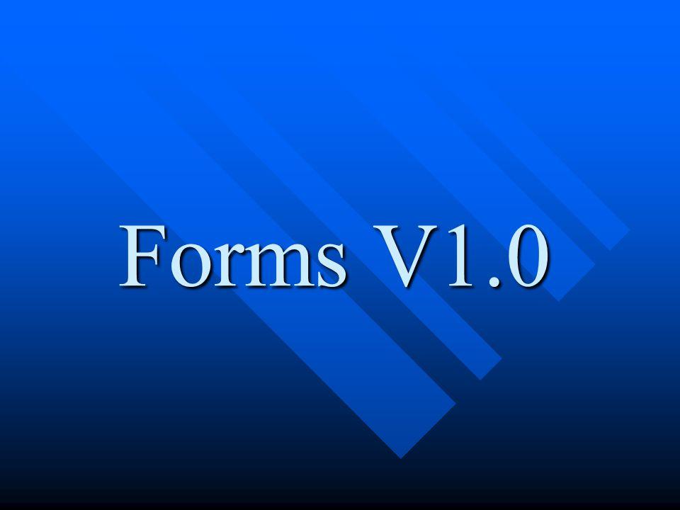 Forms V1.0