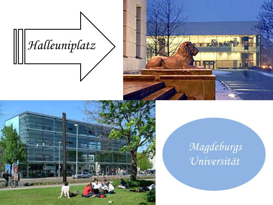 Halleuniplatz Magdeburgs Universität
