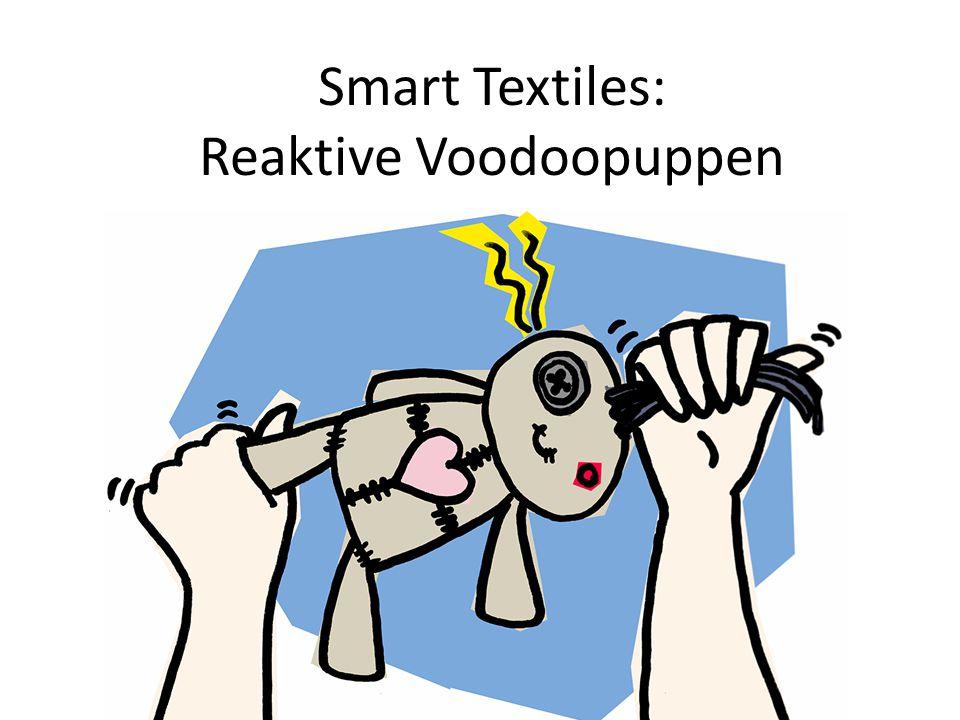 Smart Textiles: Reaktive Voodoopuppen