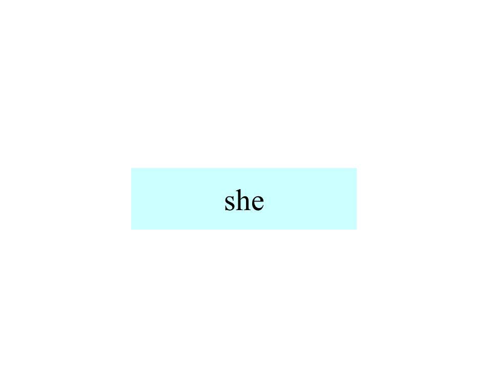 sie (singular)