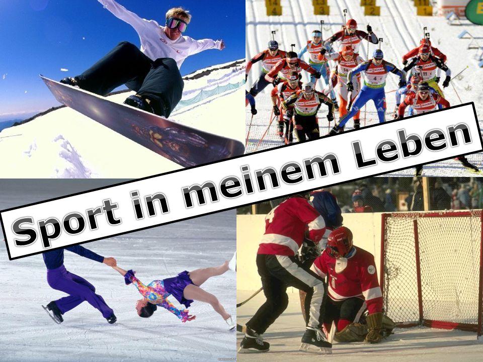 Wähle die richtige Variante und setze den Satz fort:  Die Alpen sind sehr populär, weil man hier Wintersportarten treiben kann.