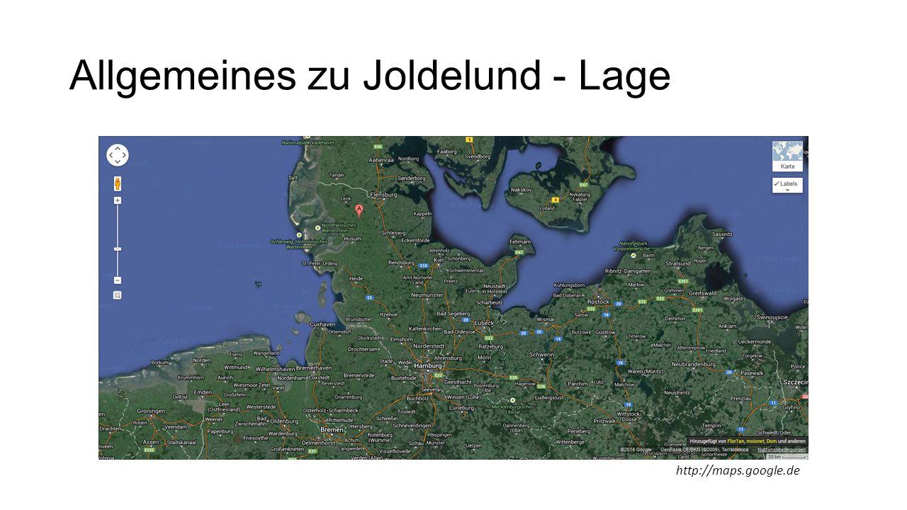 Allgemeines zu Joldelund - Lage http://maps.google.de