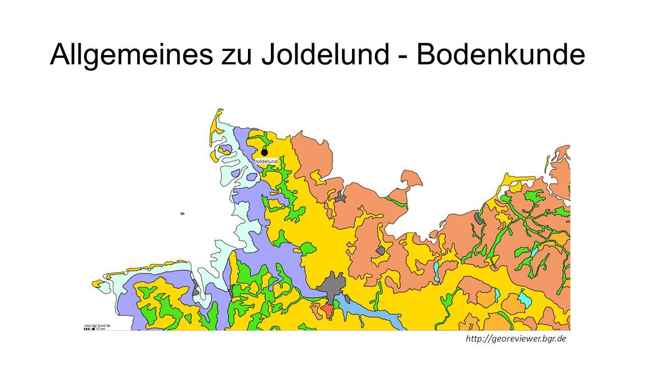 Allgemeines zu Joldelund - Bodenkunde http://georeviewer.bgr.de