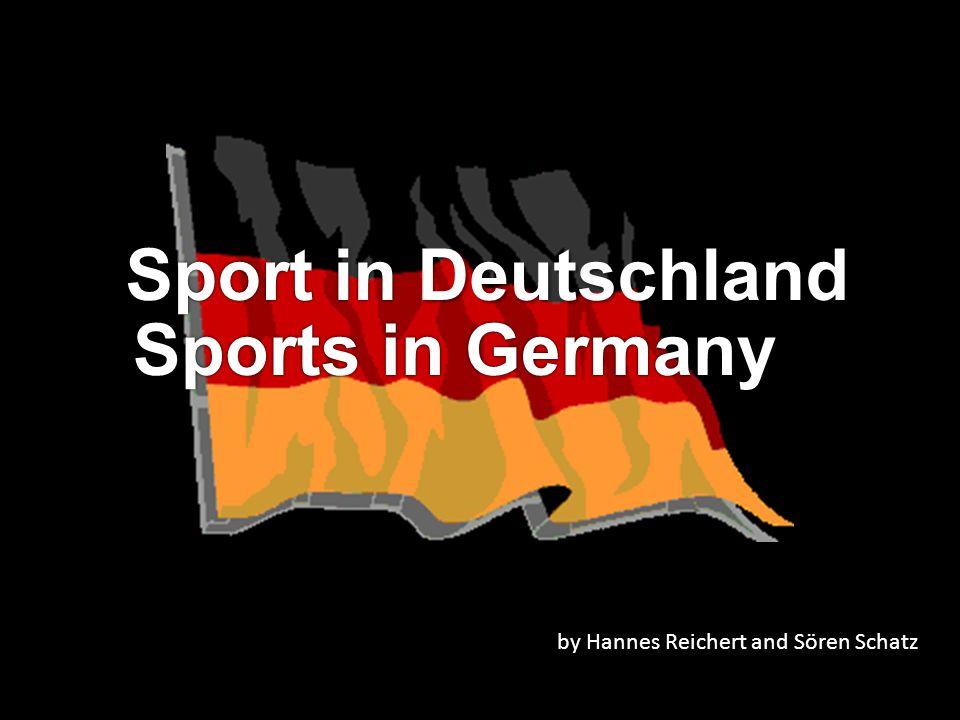 Sport in Deutschland Sports in Germany by Hannes Reichert and Sören Schatz
