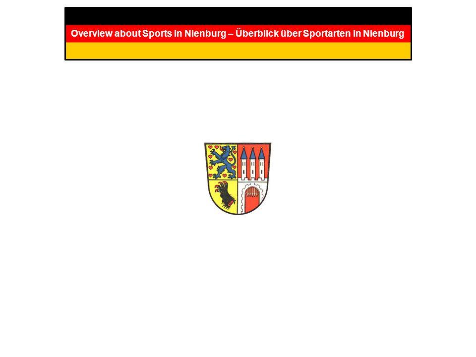 Overview about Sports in Nienburg – Überblick über Sportarten in Nienburg
