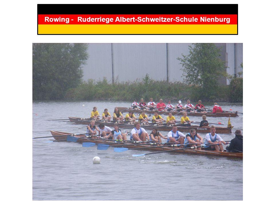Rowing - Ruderriege Albert-Schweitzer-Schule Nienburg