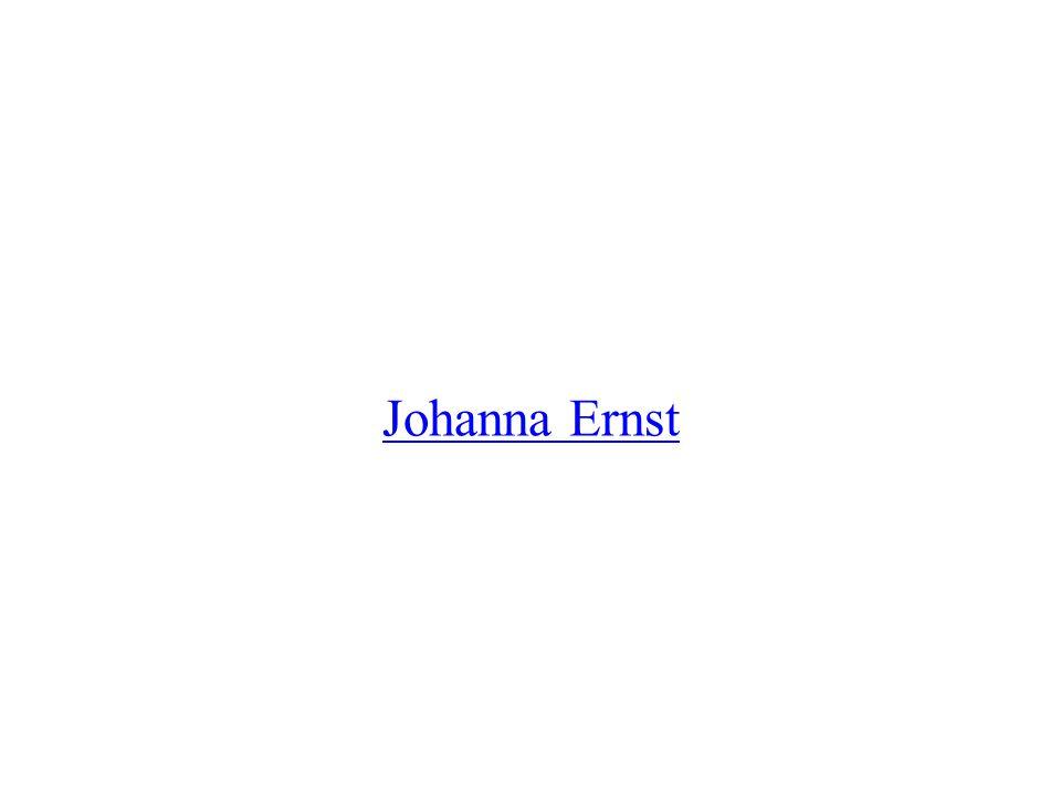 Das war Johanna Ernst Sie kommt aus Innsbruck in Österreich Sie ist jetzt zweiundzwanzig Jahre alt Sie klettert, seit sie acht Jahre alt ist.