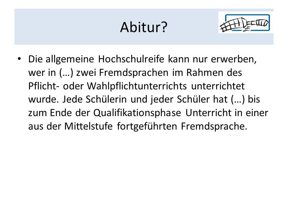 Abitur.