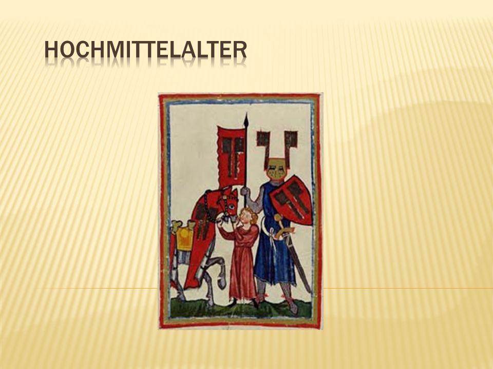 Historischer Hintergrund  Mit der Übernahme der Herrschaftsgewalt der Staufer über die Salier 1125 setzte alsbald das Hochmittelalter ein.