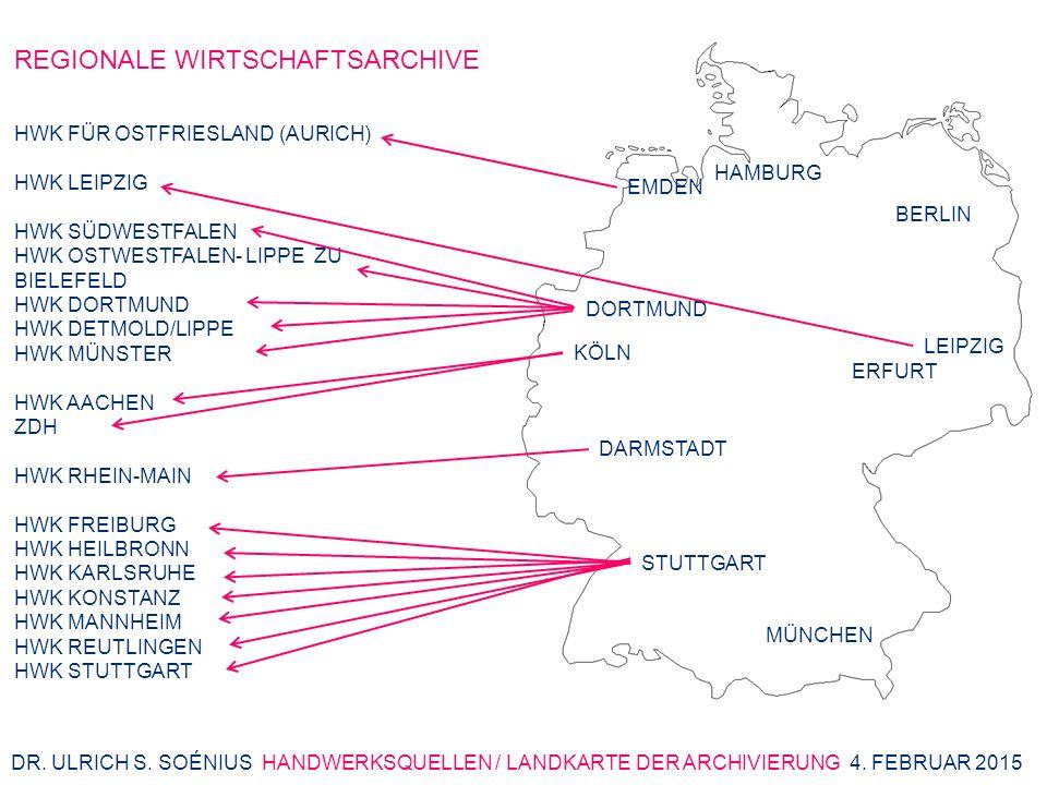 HWK FÜR OSTFRIESLAND (AURICH) HWK LEIPZIG HWK SÜDWESTFALEN HWK OSTWESTFALEN- LIPPE ZU BIELEFELD HWK DORTMUND HWK DETMOLD/LIPPE HWK MÜNSTER HWK AACHEN ZDH HWK RHEIN-MAIN HWK FREIBURG HWK HEILBRONN HWK KARLSRUHE HWK KONSTANZ HWK MANNHEIM HWK REUTLINGEN HWK STUTTGART HAMBURG BERLIN KÖLN DORTMUND ERFURT LEIPZIG EMDEN DARMSTADT STUTTGART MÜNCHEN DR.