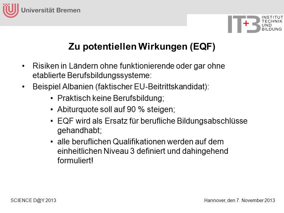 Hannover, den 7.November 2013SCIENCE D@Y 2013 Was tun.
