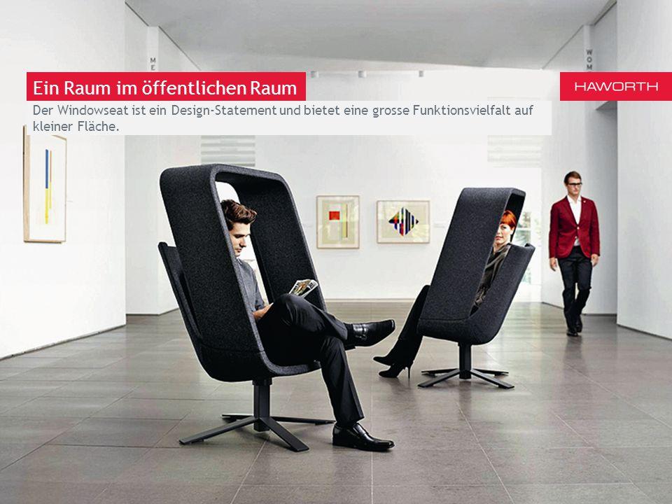 March 13th 2014 | Berlin Ein Raum im Büro Der Windowseat bietet Privatsphäre; mit der Drehfunktion können Sie sofort zu einer kooperativeren Funktionsweise wechseln.