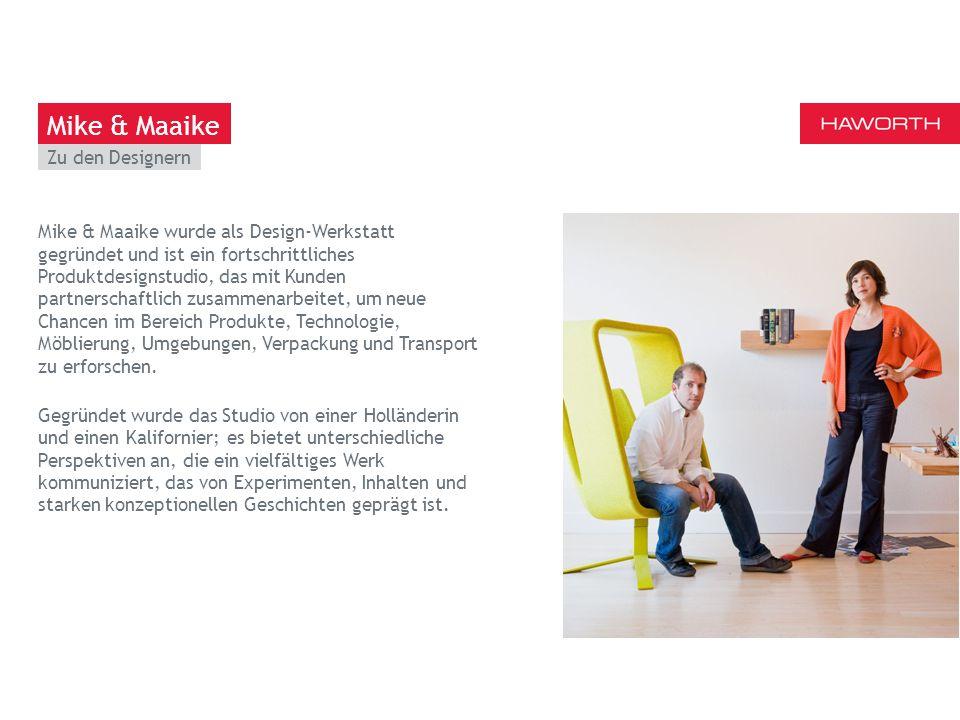March 13th 2014 | Berlin Zu den Designern Mike & Maaike wurde als Design-Werkstatt gegründet und ist ein fortschrittliches Produktdesignstudio, das mit Kunden partnerschaftlich zusammenarbeitet, um neue Chancen im Bereich Produkte, Technologie, Möblierung, Umgebungen, Verpackung und Transport zu erforschen.
