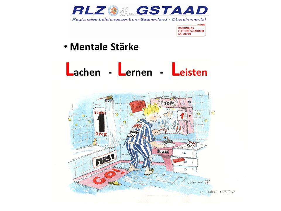 Mentale Stärke L achen - L ernen - L eisten
