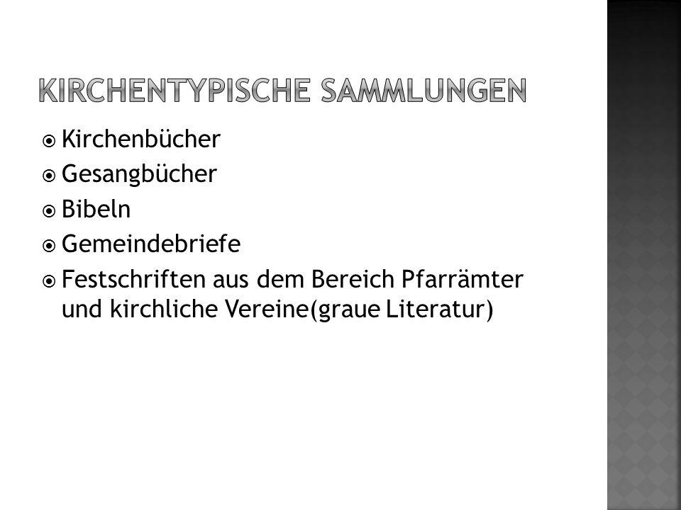  Musikarchiv (Trier); Musikalien (Speyer)  Kleruskartei (Limburg)  Andachtsbilder (Speyer)  Orden, Plaketten, Abzeichen (Speyer)  Handschriftenfragmente 11.-13.