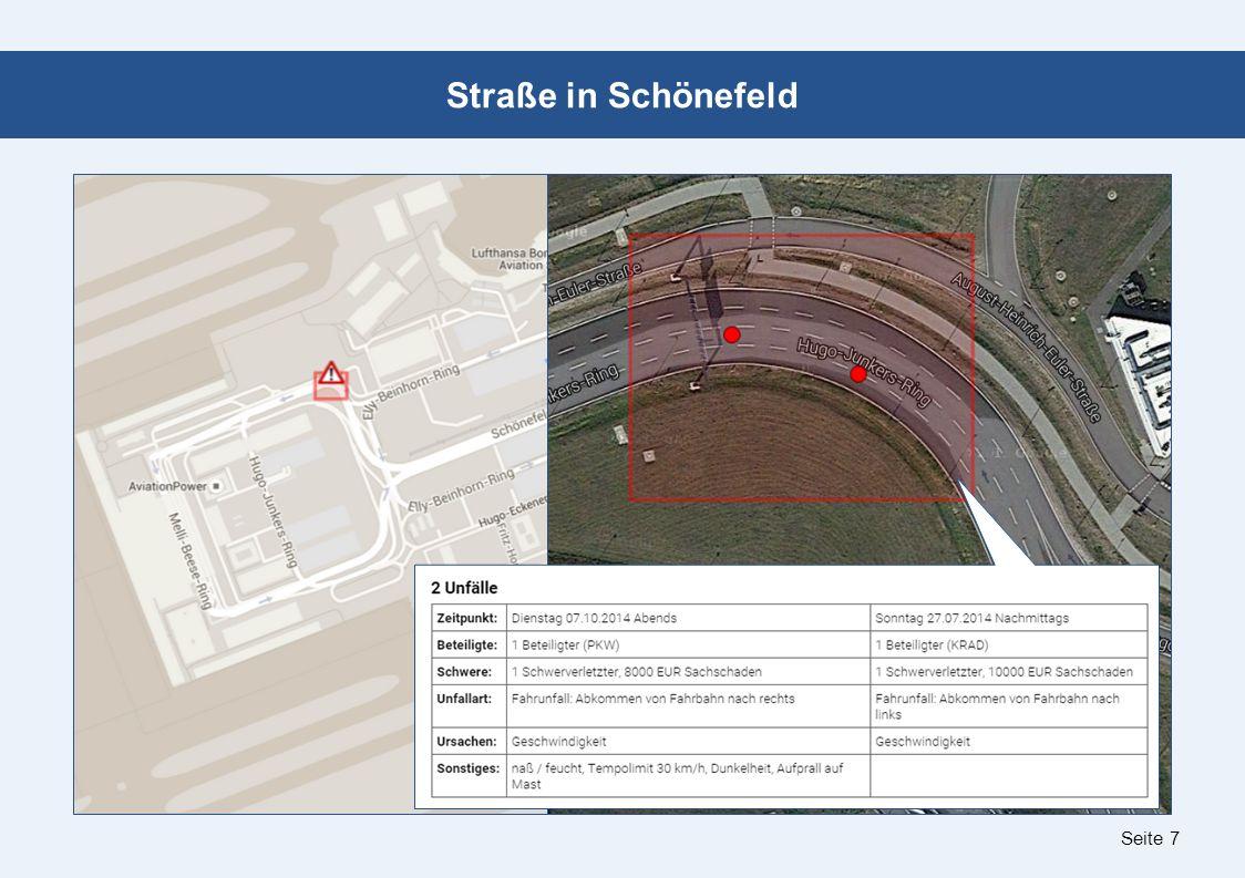 Seite 7 Straße in Schönefeld