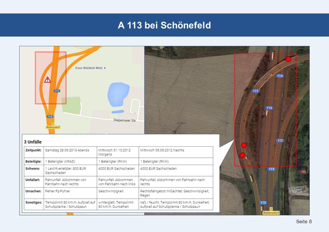 Seite 8 A 113 bei Schönefeld