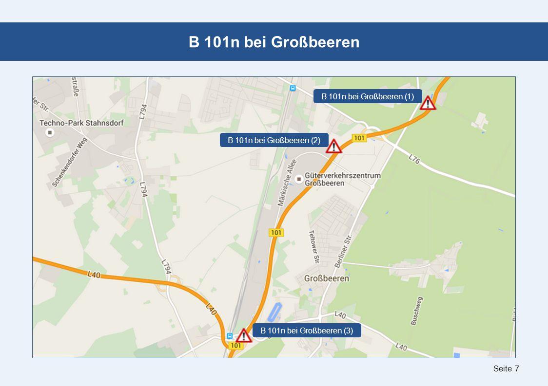 Seite 7 B 101n bei Großbeeren B 101n bei Großbeeren (1) B 101n bei Großbeeren (2) B 101n bei Großbeeren (3)