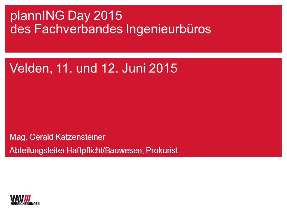 Jörg Roth 03-08 plannING Day 2015 des Fachverbandes Ingenieurbüros Velden, 11.