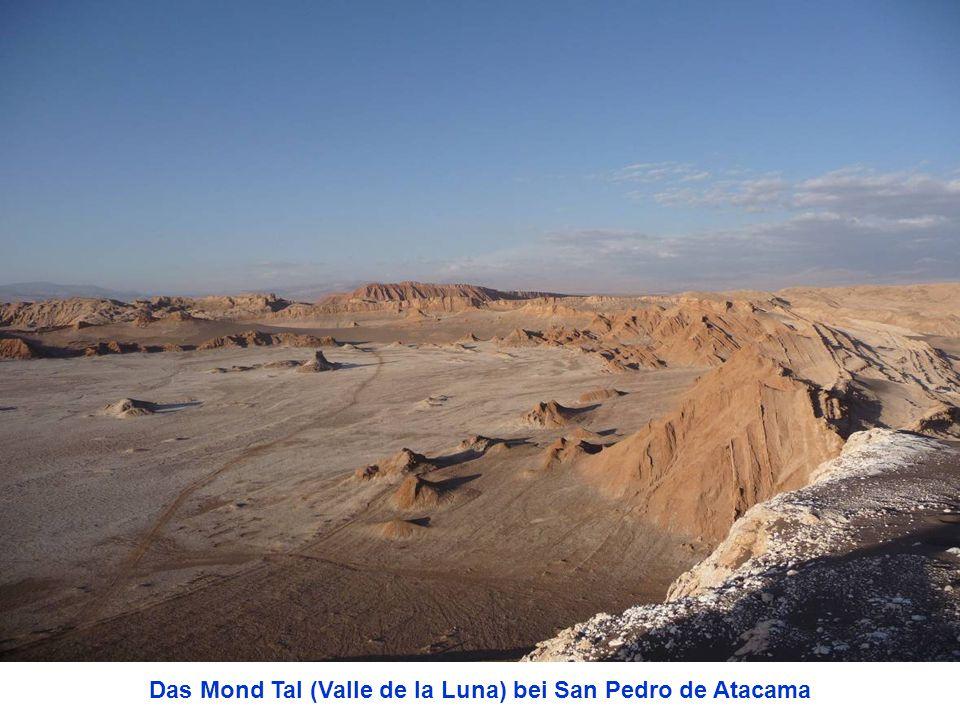 Das Mond Tal (Valle de la Luna) bei San Pedro de Atacama