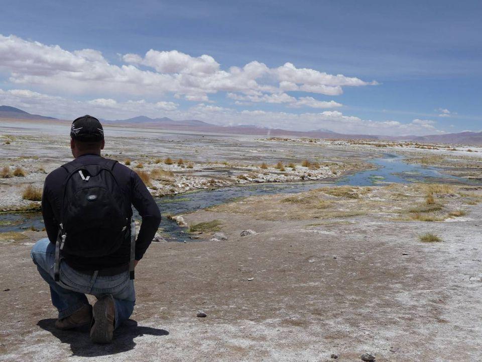Die Laguna Colorado auf 4600 m