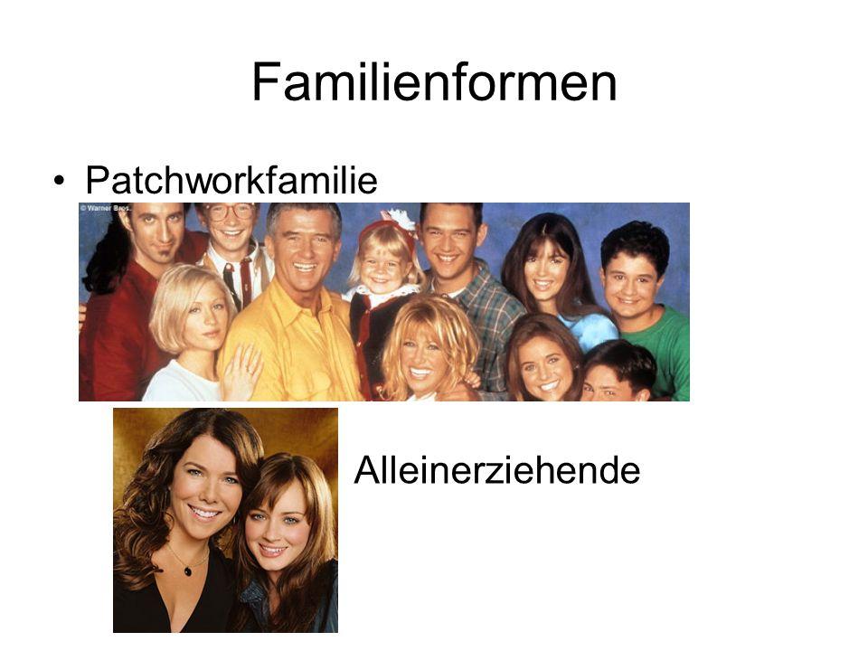 Familienformen Adoptionsfamilie Konkubinatsfamilie