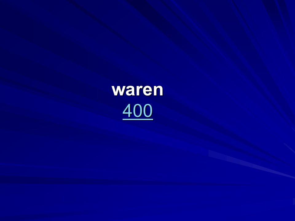 waren 400 400