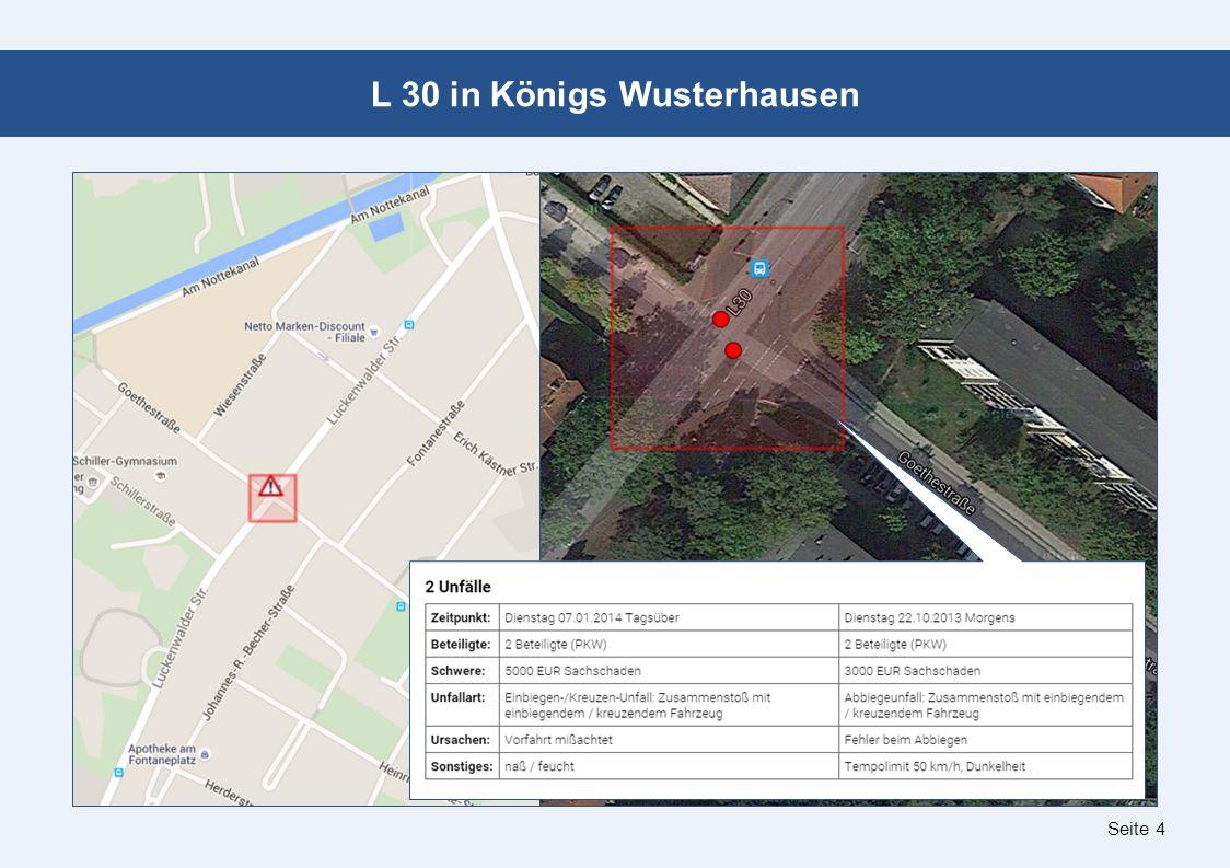 Seite 4 L 30 in Königs Wusterhausen