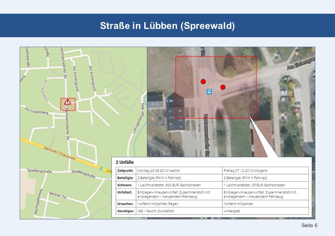 Seite 6 Straße in Lübben (Spreewald)
