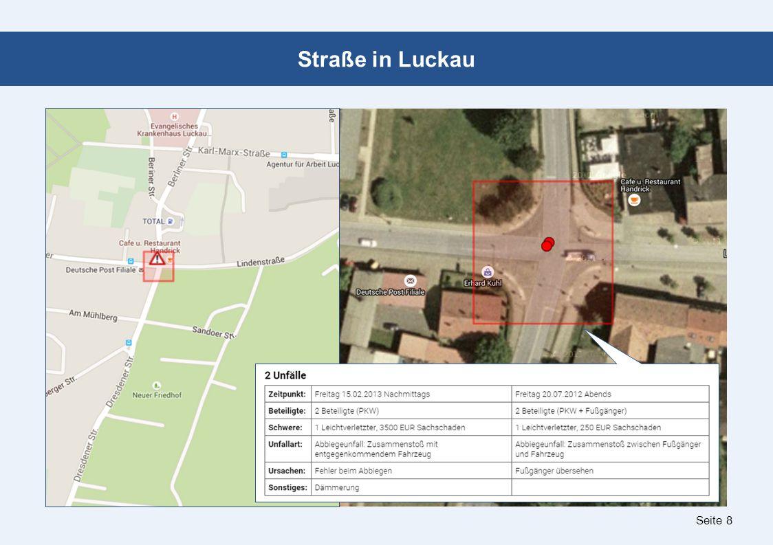 Seite 8 Straße in Luckau