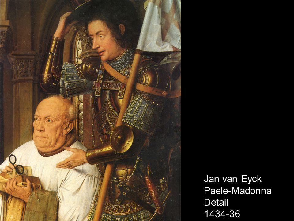 Jan van Eyck Paele-Madonna Detail 1434-36