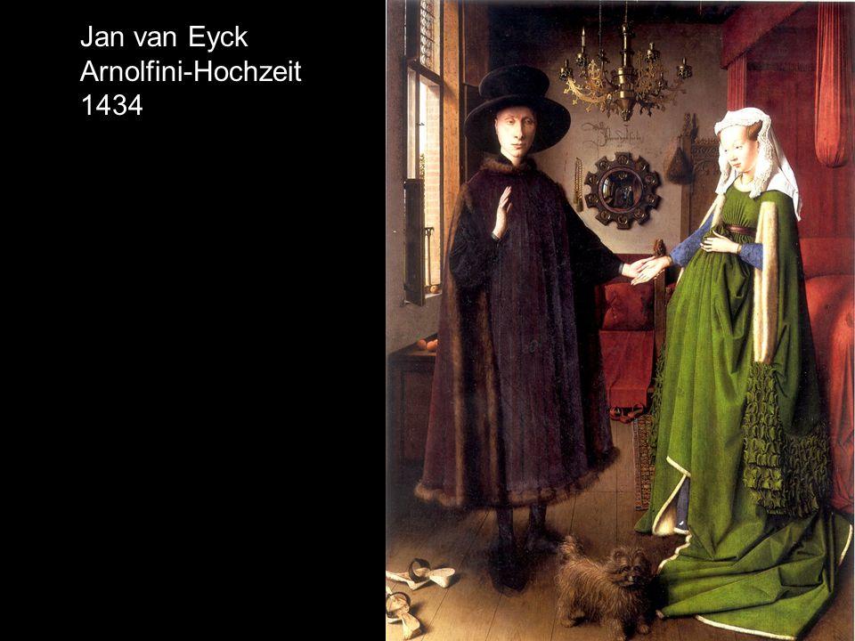 Jan van Eyck Arnolfini-Hochzeit 1434