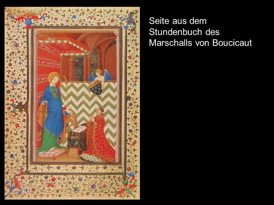 Seite aus dem Stundenbuch des Marschalls von Boucicaut