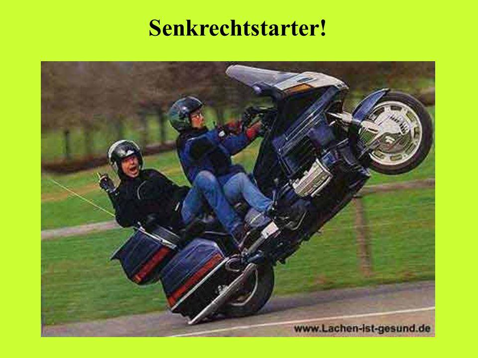 Jetzt dürfen auch Frauen Motorrad fahren!