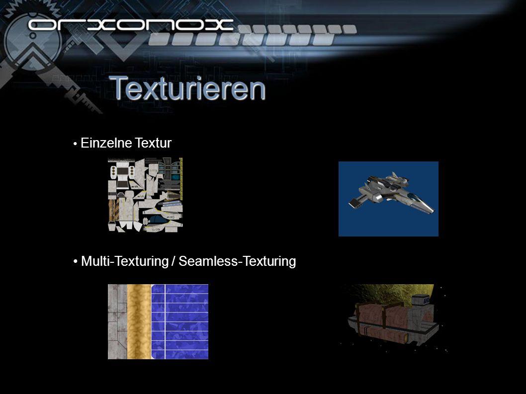 Texturieren Einzelne Textur Multi-Texturing / Seamless-Texturing